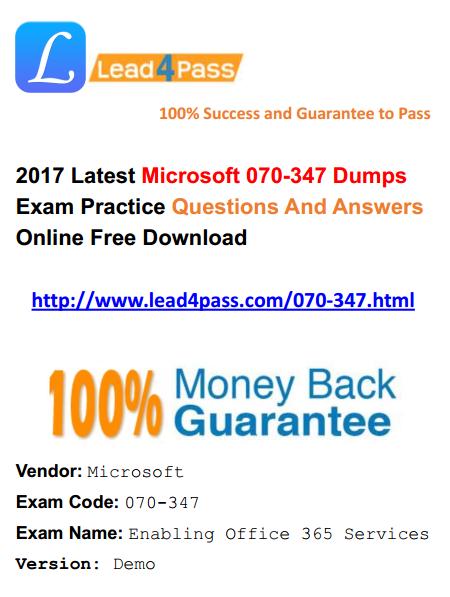070-347 dumps