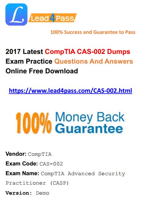 CAS-002 dumps