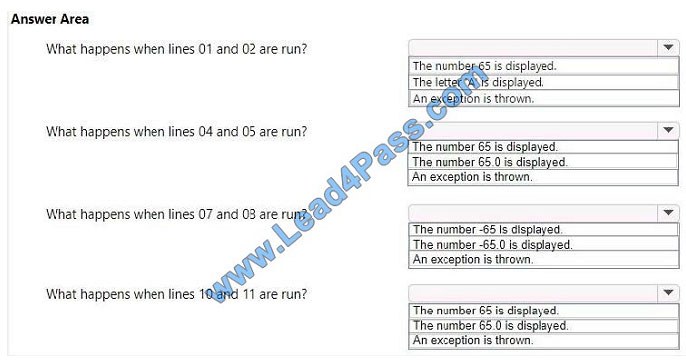 lead4pass 98-388 exam question q10-1