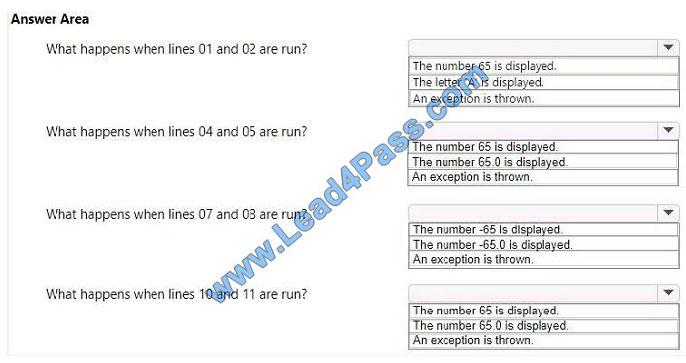 lead4pass 98-388 exam question q10-1