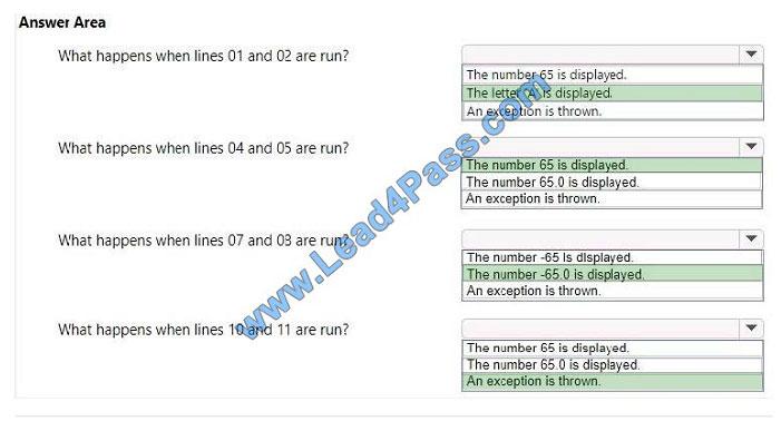 lead4pass 98-388 exam question q10-2