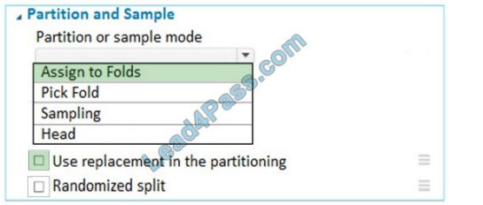 lead4pass dp-100 exam question q12-1