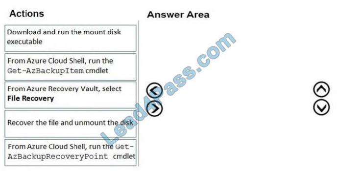 lead4pass az-120 exam question q8